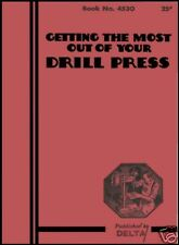How To Get The Most From Your Drill Press