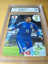 SHINJI KAGAWA JAPAN 2014 ADRENALYN XL FIFA WORLD CUP GRADED 10