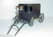 Amish Market Wagon Miniature 1/24 Scale G Scale Diorama Accessory Item