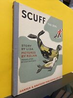 SCUFF THE SEAL Lida ILLUS Rojan 1937 1st Edition HC Trans by Lily Duplaix
