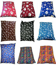 """EXTRA-LARGE Dog Bed Pillow Cover ONLY~56""""x37"""" SIZE~ Washable Cover ONLY with ZIP"""