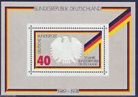 Bund Block 10 - Block , Einzelmarken  ,  Postfrisch ,