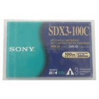 Job lot 4 x Sony SDX3-100C 260GB AIT-3 Tape Cartridge New and Sealed