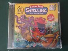 School Zone: SPELLING 1st./2nd. Grade -Age 6-8 CD-ROM