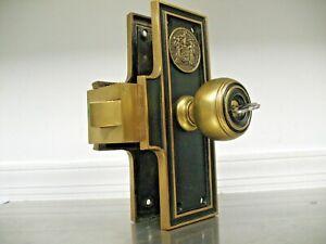 Corbin Cabinet Lock 1//2 Lox 7//8 WD26s Strike VINTAGE DRAWER,CABINET,WARDROBE