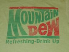 MOUNTAIN DEW SHIRT MENS SMALL SAVVY