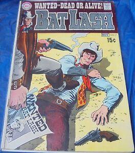 DC Comics Bat Lash #7 November December 1969 Wanted Dead Or Alive Western Cardy