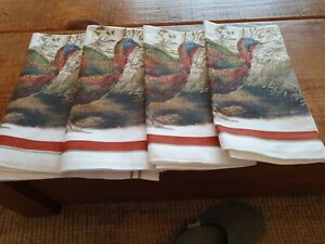 Williams-Sonoma napkins/ place  mats x 4 peowned unused