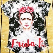 Frida Kahlo  T-Shirt (black