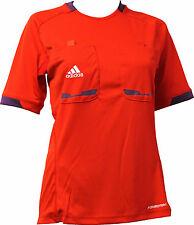 adidas Herren Refer 12 Schiedsrichter Trikot Referee Jersey Shirt kurzarm rot