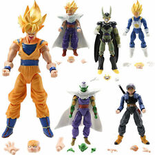 6pcs Dragonball Z Dragon ball DBZ Goku Piccolo Action Figure Toy JP Anime Set