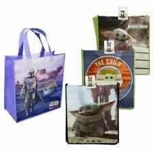 Set of 4 Disney Star Wars The Mandalorian Baby Yoda Reusable Shopping Tote Bags
