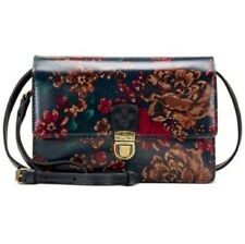 Patricia Nash Women Floral Multicolor  Small Leather Crossbody NWOT