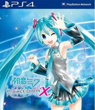 Sony PlayStation ps4 4 juego * Hatsune Miku Project Diva x *** neu*new*18
