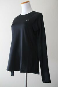 Under Armour Women's ColdGear Crewneck Long Sleeve Shirt Style # 1281244