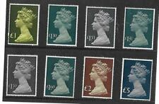 GB 1977-87 Machin Large format  High Value Definitives  SG.1026/28g - MNH