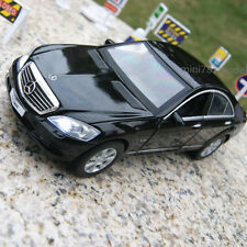 Mercedes-Benz S600L 1:32 Model Cars Sound&Light Alloy Diecast Black Collections