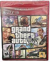 Play Station 3 Greatest Hits Grand Theft Auto V PS3 GTA