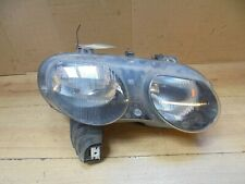 ROVER 75 99-03 MG ZT & T 2001-03 DRIVER FRONT LAMP LIGHT HEADLIGHT ,BLACK INSERT