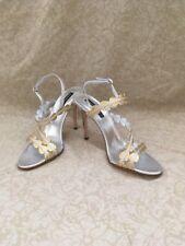 Claudia Ciuti Jaira Gold Grain Lame, Women's Shoes, Soze 8.5M