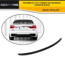 Carbon Fiber Rear Trunk Spoiler Fit For BMW 7 Series G11 G12 Sedan 4-Door 16-18