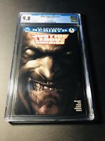 JUSTICE LEAGUE OF AMERICA #1 MATTINA SKETCH VARIANT COVER CGC 9.8 NM/MT