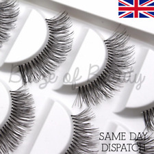 c9a3908167f 5 Pairs Wispy Natural False Eyelashes Long Fake Strip Eye Lashes Extensions
