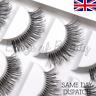 5 Pairs Wispy Natural False Eyelashes Long Fake Strip Eye Lashes Extensions