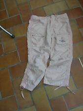 pantacourt léger style baroudeuse Complices 16A genoux préformés randonnée