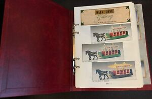 Days Gone By Collector Gallery in binder,, plus extras brilliant reference vg