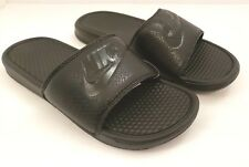 Nike Benassi JDI Mens Size 7 Black Just Do It Sport Slides Sandals 343880-001