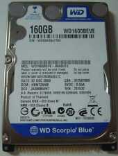 "NEW 160GB IDE 44PIN 2.5"" 9.5MM Hard Drive WD WD1600BEVE Free USA Shipping"