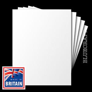 100 x A6 White Blank Postcards - No Print - 170gsm - Inkjet & Laser