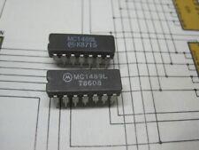 MC1489L QUAD CMOS LINE RECEIVERS  RS232 CERAMIC DIP 1pcs