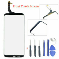 Black For Samsung Galaxy S8 Plus G9550 frontglass Display Touch Screen Digitizer