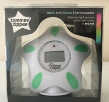 Tommee Tippee Closer to Nature Room and Bath Thermometer BNIB Brand New
