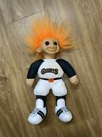 Vintage Troll MLB Beanbag Doll San Francisco Giants 12""