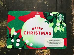 starbucks UK gift card - Merry Christmas 2021 (new card)