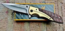 BROWNING DA77 Folding Camping Outdoor Pocket Knife STOCK IN USA- GREAT FOR DADS!