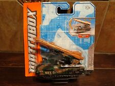 MBX MISSILE LAUNCHER MILITARY MATCHBOX  NEW IN USED PACKAGE