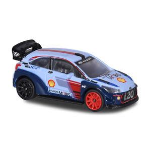 "Majorette 212084012 Hyundai i20 "" Shell - Neuville "" Light Blue - WRC Cars 1:64"