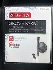 Delta Grove Park Towel Hook - Grp35-Vbr Venetian Bronze Finish - Brand New