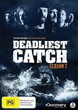 Deadliest Catch : Season 7 (DVD, 2011, 5-Disc Set) Region 4