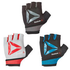 Reebok Training Gloves Weight Lifting Padded Gym Workout Bodybuilding Fitness