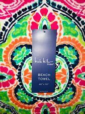 Nicole Miller Plush **JEWEL TONES** Beach Towel  40X70