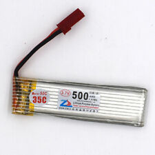 701855 3.7V 35C 500mAh 1S Helicopter Li-Po Battery for Remote RC JST Connector