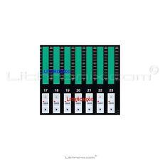 Komori Lithrone 28 PQC C D DII Console Ink Key Membrane