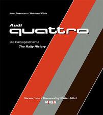 BUCH AUDI Quattro Die Rallyegeschichte McKlein S1 Röhrl Mikkola Mouto 252 Seiten