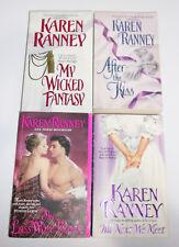 Karen Ranney 4 PB Lot The Lass Wore Black Til Next We Meet Wicked Fantasy