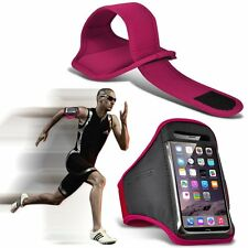 Quality Sports Armband Gym Running Workout Belt Strap Phone Case Cover✔PINK